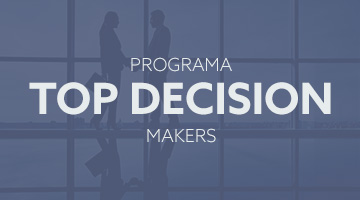 Programa top decision makers para supervisores e diretores.