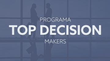 Programa top decision makers para supervisores e diretores.