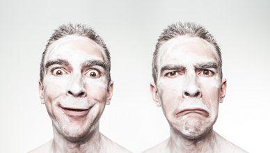 variacoes de humor e reacoes corporais